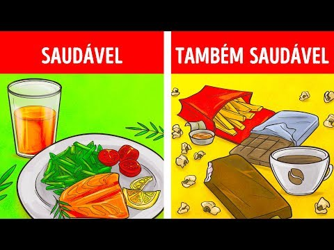 9 Alimentos ruins que trazem benefícios para saúde