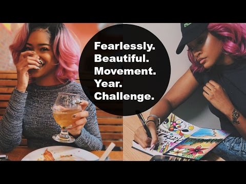 Fearlessly Beautiful Movement Year Challenge | Bri Hall