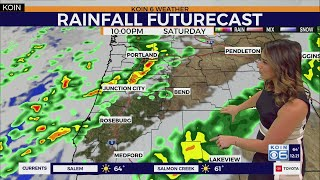 Weather forecast: Fall storm still on track to soak Portland this weekend