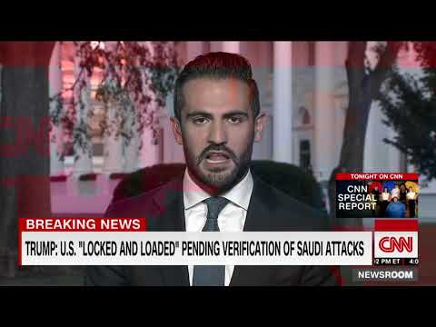 [HD] CNN : Satellite images show targets hit in oil attack, US says 9/15/2019 9:37 PM PDT