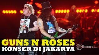 Nonton Konser Guns N Roses di GBK