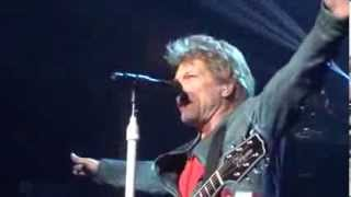 Bon Jovi Staples Center4/19/13 That's What The Water Made Me