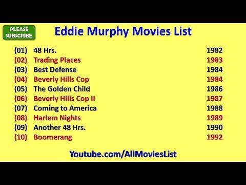 Eddie Murphy Movies List