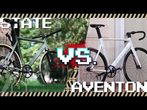 Aventon Mataro vs. State Bike Co. Black Label v2