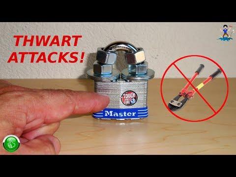 How To Prevent Bolt Cutter Attacks On Padlocks