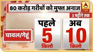 Sarkar ने किया 1 लाख 70 हजार करोड़ के Corona Relief Package का एलान   ABP News Hindi