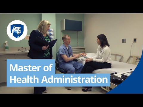 Master of Health Administration (MHA) Degree Online - YouTube