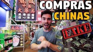 DE COMPRAS EN UN MERCADO CHINO