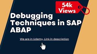 SAP ABAP : Debugging Techniques