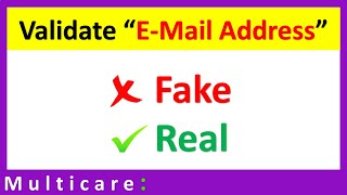 how to validate email id in C-Sharp windows application