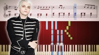 My Chemical Romance   Blood   Piano Tutorial