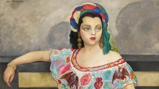 Retrato de La Actriz Matilde Palou (Rivera)