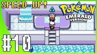 Pokemon Emerald Walkthrough Part 10: Sootopolis City & Gym Leader Juan (SPEED UP!)