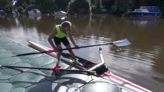 How to scull - sculling technique - rowing - learn to row