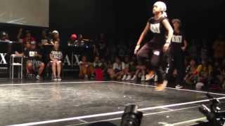 I CEE&BOUBOO vs RUSH BALL HIPHOP FINAL WDC WORLD FINAL 2013