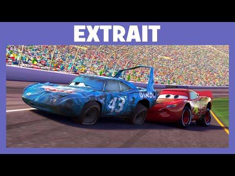 Cars - Extrait : Flash McQueen aide Le King