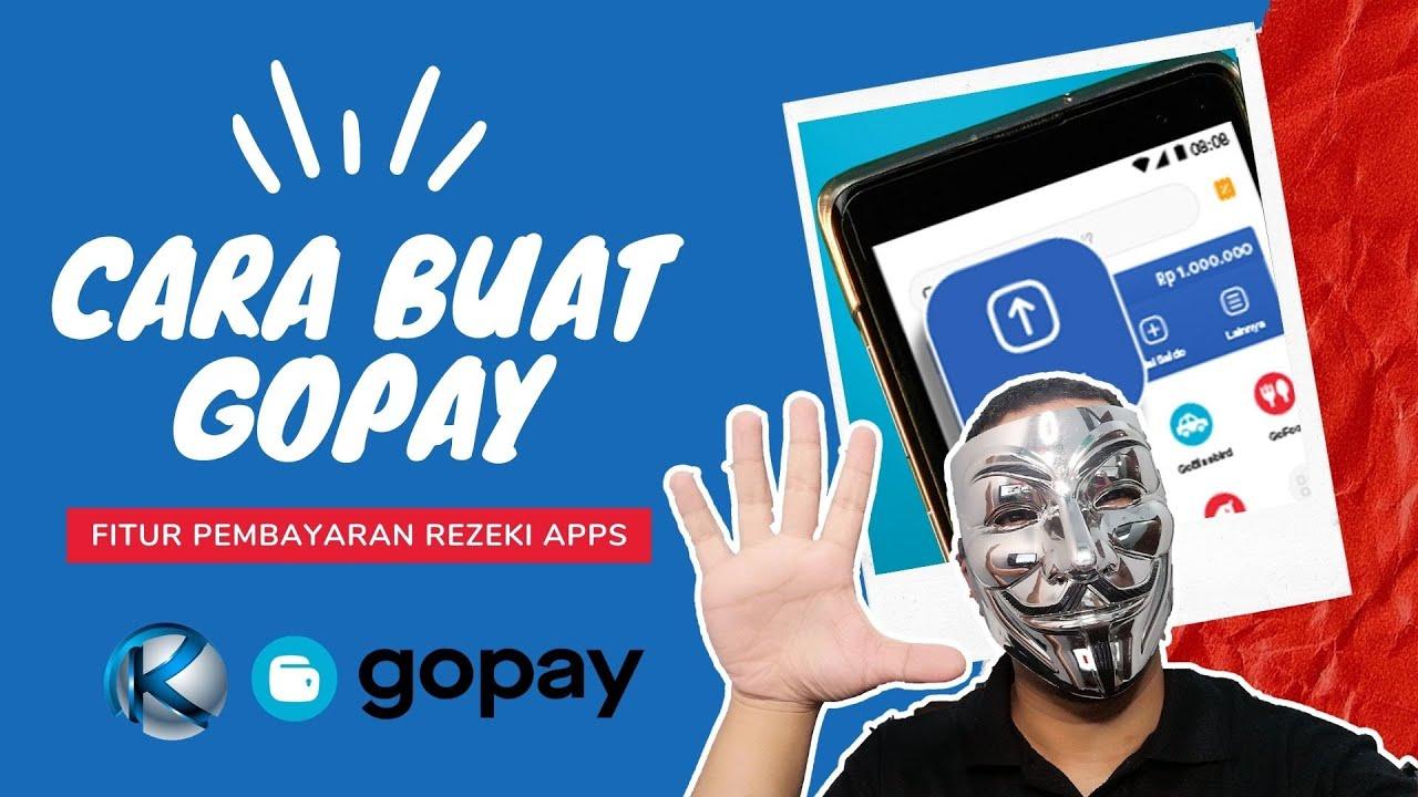 Gopay Metode Pembayaran Upgrade VIP Rezeki Apps