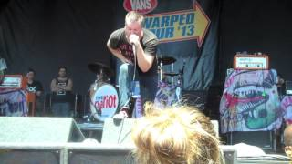 The Chariot - Before There Was Atlanta, There Was Douglasville (Live) Warped Tour Holmdel 7/07/13
