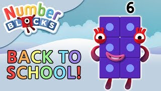 Numberblocks - Back To School | Counting Games | Learn To Count