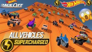 Hot Wheels: Race Off - Finally Got All ⚡ Supercharged ⚡ Vehicles