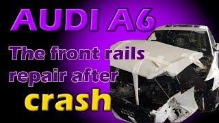 Audi A6. Body repair. Ремонт кузова.