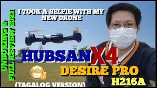 I TOOK A SELFIE WITH MY HUBSAN X4 DESIRE PRO H216A | UNBOXING & FULL REVIEW #HubsanDrone #Unboxing