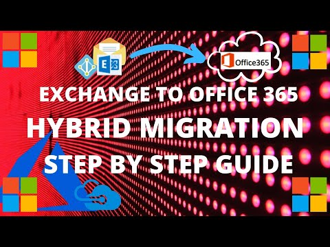 Exchange On-Premise to Office 365 Hybrid | Mailbox Migration Exchange Online | Step by Step Guide