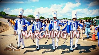Tennessee State University Marching In @ the 2021 HBCU Hall of Fame Classic