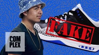 Selling Fake Air Jordan Shoes to Hypebeasts: Hidden Camera Prank On Complex