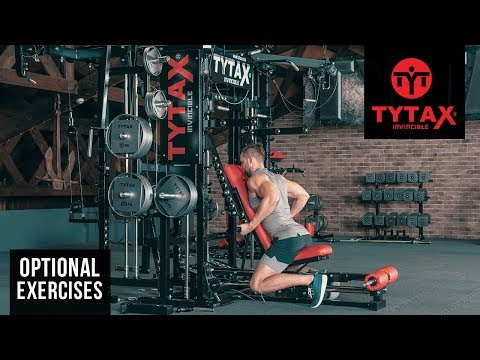 TYTAX® T1-X (Opt. PR) | Seated Cable Lever Underhand Row (Chest Support)