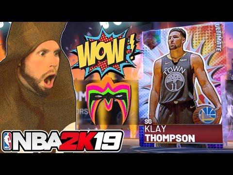 Ultimate Warrior NBA 2K19 Packs