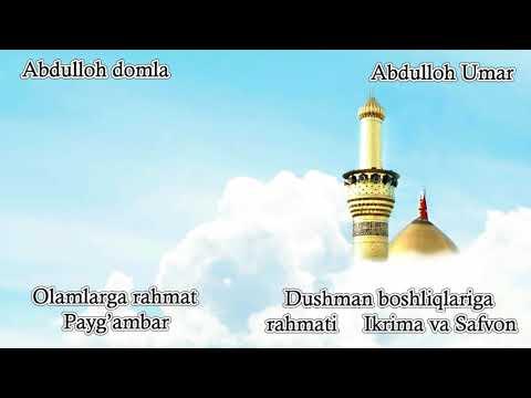 Abdulloh domla - Dushman boshliqlariga rahmat  ~ Ikrima va Safvon [2013 - 2014]
