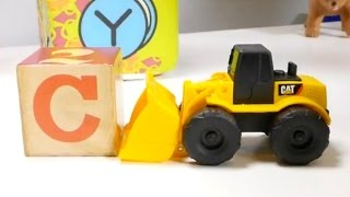 Games for Kids. Cars and Alphabet. Letters ABC.