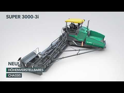 VÖGELE SUPER 3000-3i - Go Extreme - Nahtlos auf 4 Spuren