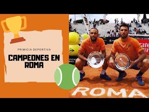 🎾CABAL Y FARAH CAMPEONES del ATP MASTERS 1000 de ROMA 2019🎾