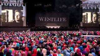 Westlife The Farewell Tour Live at Croke Park 2012 - Intro [DVD HD]