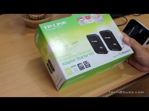 Powerline Ethernet Networking TP-LINK Powerline Kit Review