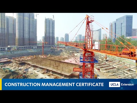 UCLA Extension: The Construction Management Certificate - YouTube