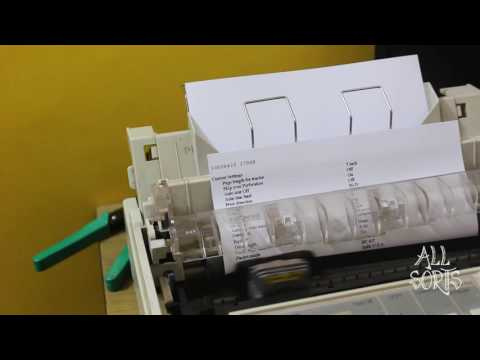 Epson Lq 300+II Printer Reset ||All sorts