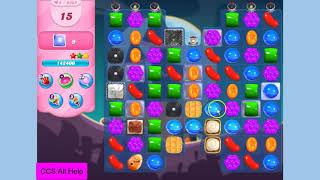 Candy Crush Saga Level 3885 NO BOOSTERS Cookie