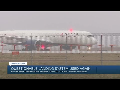Whistleblower speaks out again about unsafe DTW landing system that's still being used