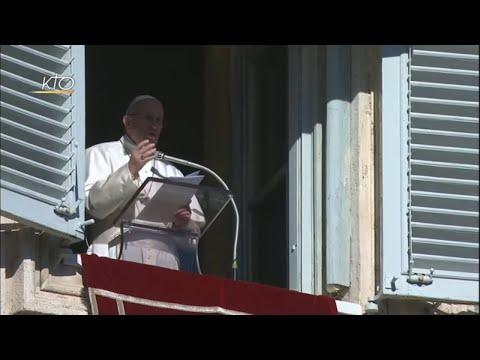 Jésus, une bénédiction pour la famille humaine : Angélus et message pour la Pai