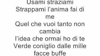 Negramaro Mentre Tutto Scorre (lyrics)