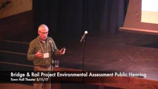Environmental Assessment Public Meeting Held at Town Hall Theater