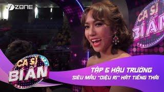 """Ca Sĩ Bí Ẩn 2017 - Tập 6: Siêu mẫu """"Diệu Ri"""" hát tiếng Thái dành tặng khán giả."""