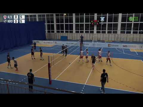 2 liga siatkówki: AKS V LO Rzeszów - Karpaty Krosno [TRANSMISJA NA ŻYWO]