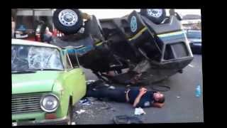 Самая ужасная авария в городе Днепропетровск. ДТП 03 09 2013