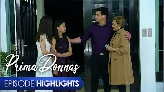 Aired (January 13, 2020): Matapos lumabas ang resulta ng DNA test, ipinahaging nina Donna Belle at Donna Lyn na kaya nilang tanggapin sina Lady Prima at Jaime bilang kanilang mga kamag-anak maliban kay Brianna.  Watch episodes of 'Prima Donnas' weekdays at 3:25 PM on GMA Afternoon Prime, starring Jillian Ward, Althea Ablan, and Sofia Pablo. Also in the cast are Aiko Melendez, Katrina Halili, Wendell Ramos, Chanda Romero, Benjie Paras, Elijah Alejo, Will Ashley, Vince Crisostomo, and Julius Miguel. #PrimaDonnas #PrimaDonnasEpisodeHighlights -------------- Subscribe to the GMA Network channel! - http://goo.gl/oYE4Dn  To our #KapusoAbroad, you can watch the latest episodes on GMA Pinoy TV! For more information, visit http://www.gmapinoytv.com   Visit the GMA Network Portal!  http://www.gmanetwork.com   Connect with us on: Facebook: http://www.facebook.com/GMANetwork Twitter: https://twitter.com/GMANetwork Instagram: http://instagram.com/GMANetwork