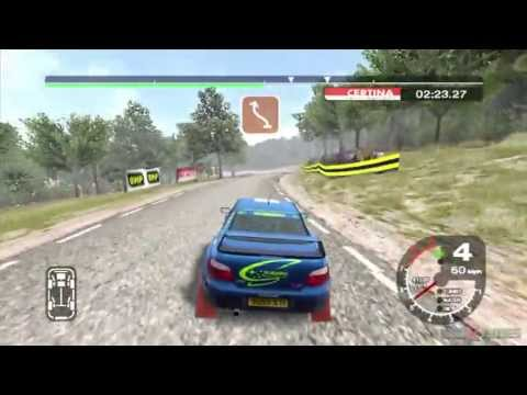 Gameplay de Colin McRae Rally 2005