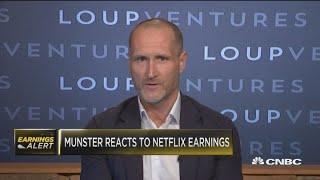 Loup Ventures' Gene Munster grades Netflix's most recent quarter